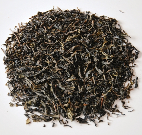 Shan Tee - gerösteter grüner Tee aus Pang Kham, Provinz Mae Hong Son, Nordthailand