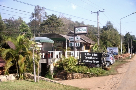 Little Eden Guest House in Soppong/Pangmapha
