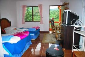 Unser Bungalow im Laolee Hill Resort in Doi Wawee, Nordthailand