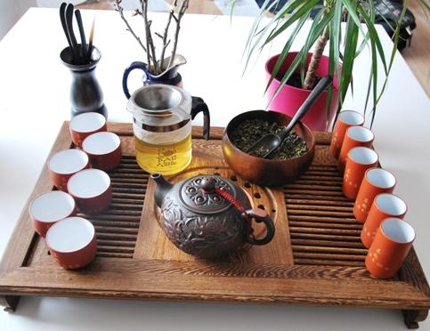 Gong Fu Cha Setup 2, Der erste Aufguss 1