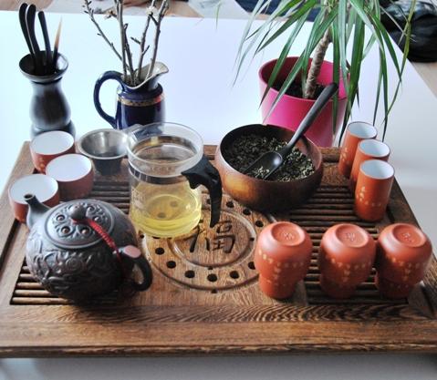 Gong Fu Cha Setup 4, Der erste Aufguss 3