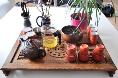 Gong Fu Cha Setup 5, Der erste Aufguss 4