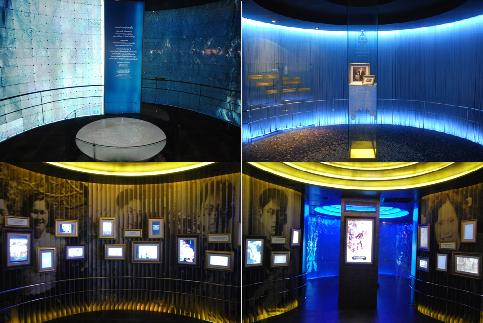Hall of Inspiration, Royal Development Project Doi Tung: Bild+ Licht-Montagen, Collage