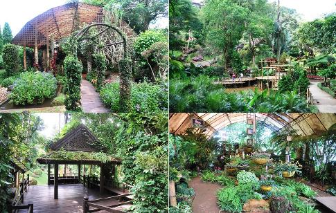 Mae Fah Lung Royal Flower Garden, Doi Tung, Werke und Orte, Collage