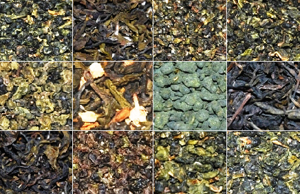 12 Pure Teas from North Thailand, Collage