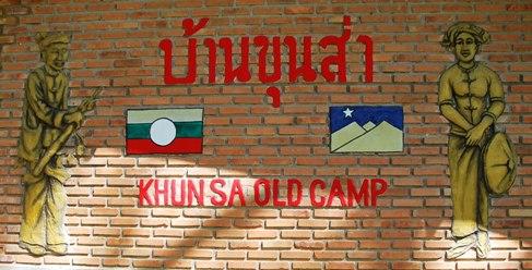Khun Sa Museum im altem MTA Army Camp