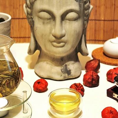 Anji Bai Cha grüner Tee in meiner Gong Fu Cha