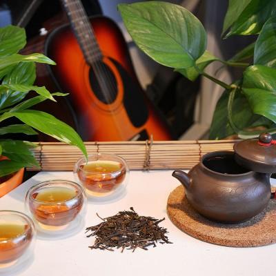 Organischer Houjicha Grüntee aus Japan