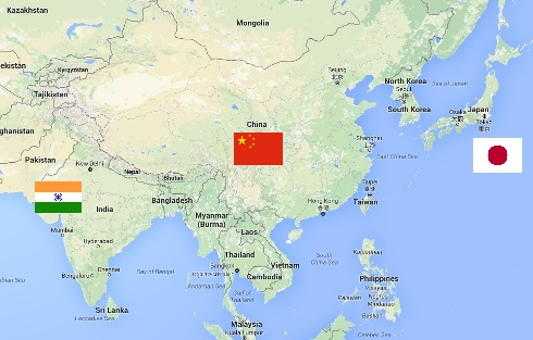 The world's three greatest tea nations - China, India and Japan