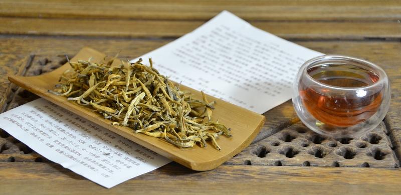 Yunnan Golden Tips - sortenrein, herkunftsrein, ernterein