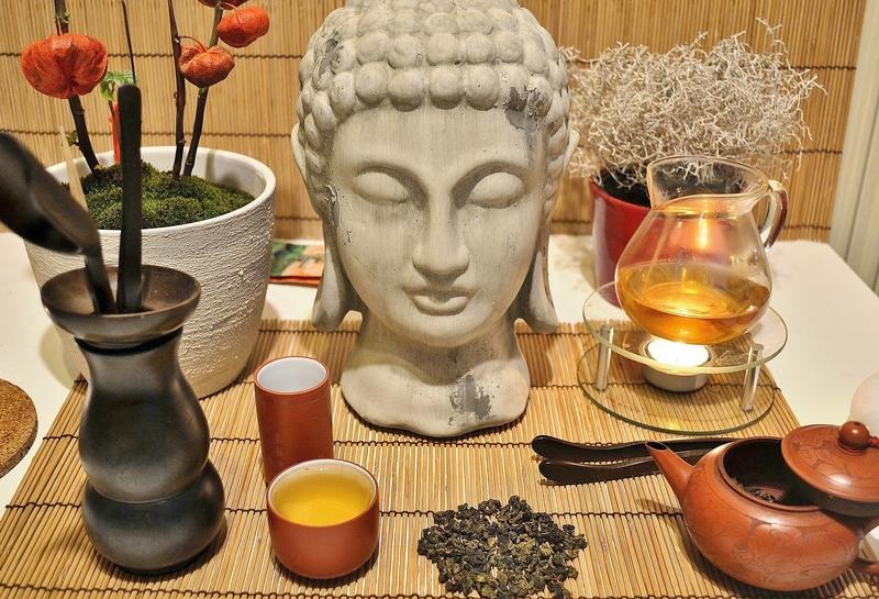 Die chinesische Teezeremonie ist ein wichtiges Element in der Entwicklung von Tee als Getränk