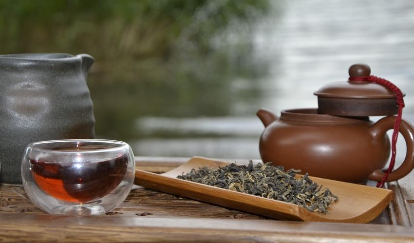 Tee am See 2016 - Snow Shan Black Schwarzer Tee aus Vietnam am Bodensee
